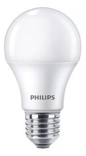 Pack X10 Lampara Led Philips Foco 7w 6w Calida Fria 220v