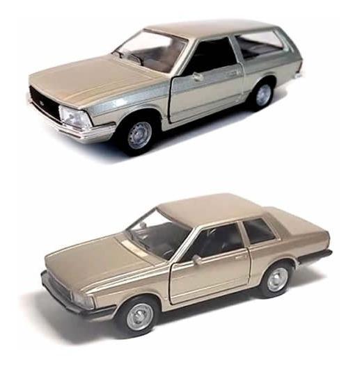 Ford Del Rey E Belina 2 Miniaturas Carros Coleção Nacionais