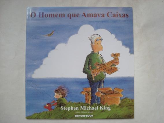 Livro O Homem Que Amava Caixas - Stephen Michael King