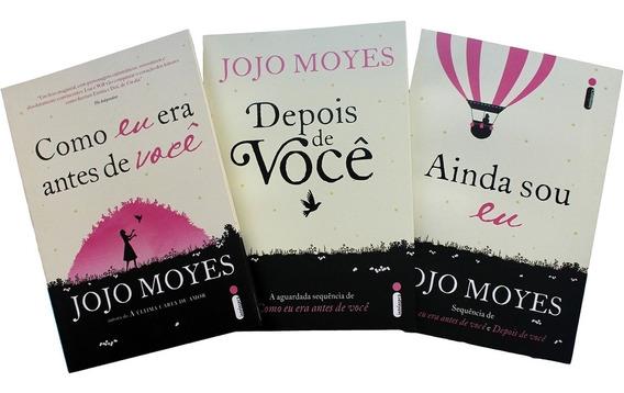 Coleção Jojo Moyes - 1ª Edição - 3 Livros