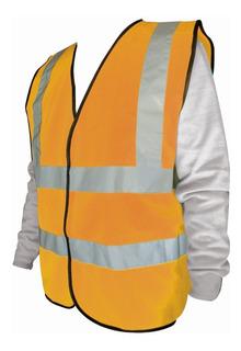 Chaleco De Seguridad Reflejante Naranja Mikels