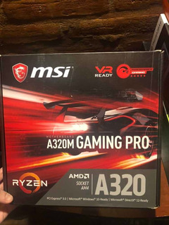 Mother A320m Msi Gaming Pro