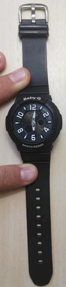 Relógio Baby-g Preto/preto (modelo Bga-132) *semi-novo*