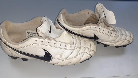 Guayos Nike Tiempo Blancos