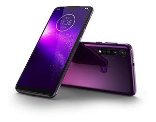 Celular Motorola Moto One Macro Xt2016 Dual 6.2 64gb Violeta