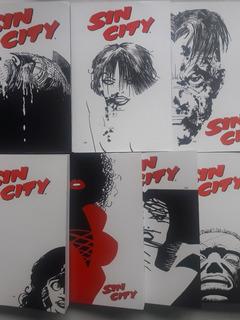 Sin City, 7 Tomos, Serie Completa, Comics, Kamite