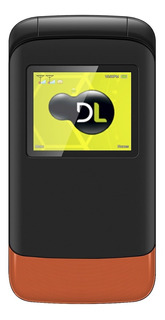 Telefone Celular Para Idosos Flip Dl Dual Sim Rádio Fm Preto