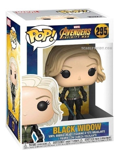Funko Pop Black Widow 295 Avengers Original Scarlet Kids