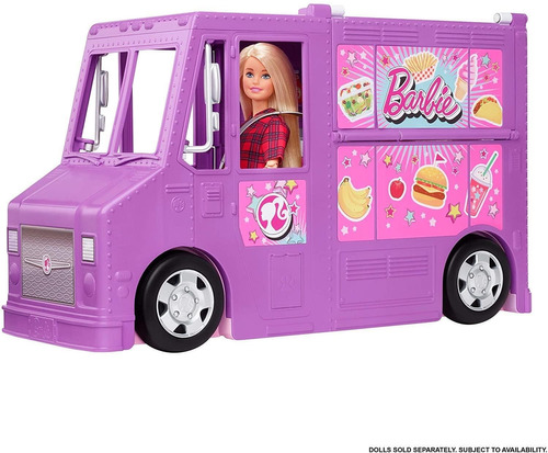 Camion De Comida Food Truck De Barbie
