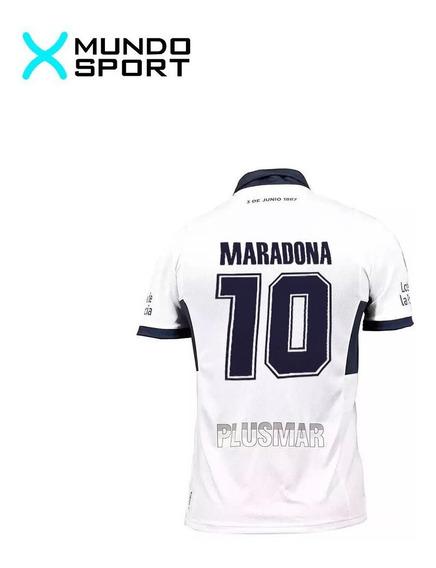 Camiseta Gimnasia La Plata Le Coq Sportif 10 Maradona Dios