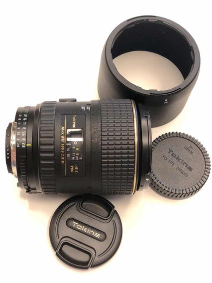 Lente Tokina Macro 100 Atx Pro F2.8 D Nikon