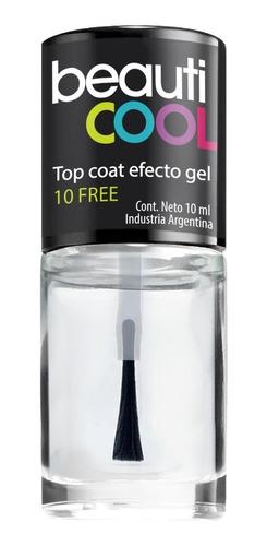 Venta Minorista - Top Coat 10 Free Efecto Gel