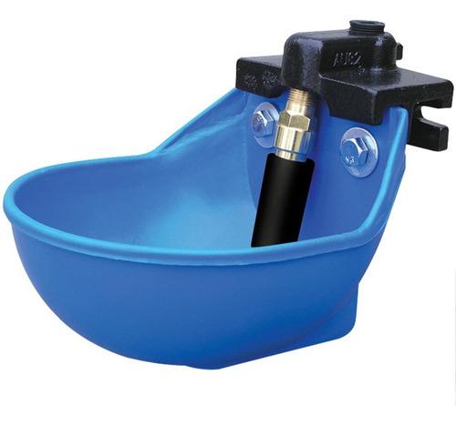 Imagen 1 de 1 de Bebedero De Agua De Plástico De Lujo, Color Azul.