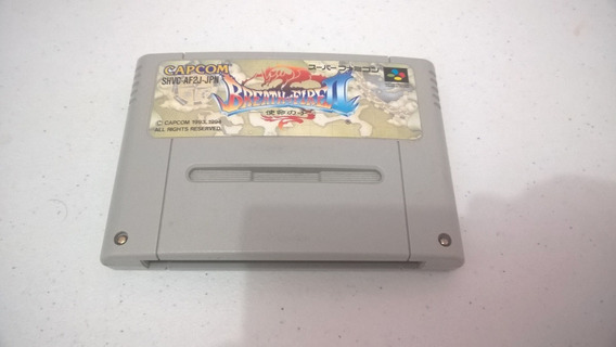 Snes: Breath Of Fire 2 - Original Japones