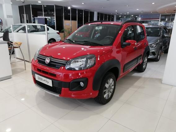 Retiralo Con Anticipo $ 44.600 Y Cuotas Fiat Uno Way 2020 -r