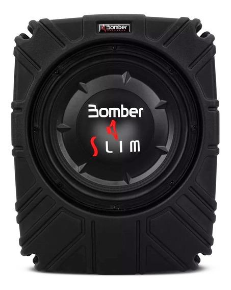 Caixa Slim Subwoofer Bomber 10 Polegadas Bobina Simples 200w