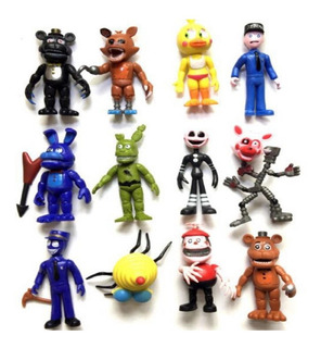 Five Nigths At Freddys Set 12 Figuras Articuladas