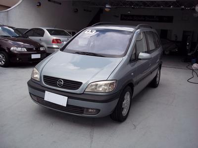 Lindo Gm Chevrolet Zafira 2.0 Mpfi 8v Gasolina 4p Automático