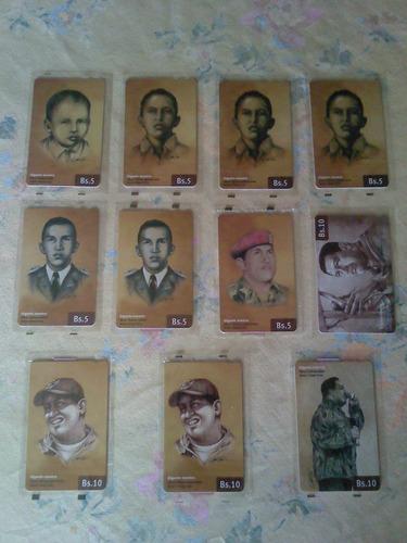 Imagen 1 de 1 de Tarjetas Cantv Chávez Gigante Nuestro