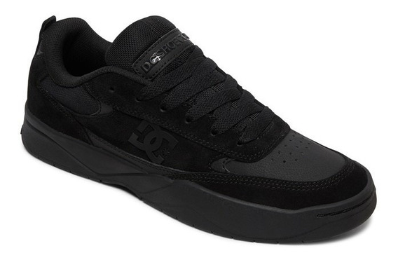 Zapatillas Dc Shoes Modelo Penza Negro Negro Coleccion 2020