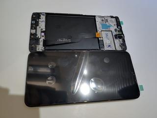 Frontal Display Touch Galaxy A10 A105 Original + Película