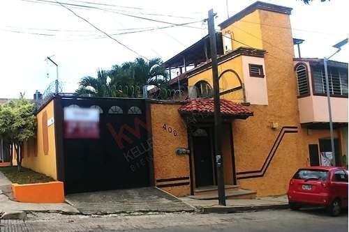 Casa Amplia Y Climatizada Ubicada En El Primer Cuadro De La Ciudad