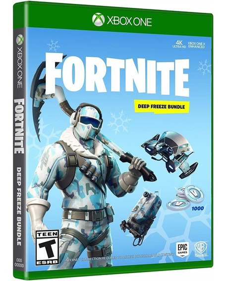 Fortnite: Deep Freeze Bundle - Xbox One (download Code)