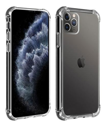 Forro Estuche Funda Transparente  iPhone 12 Pro Max 6.7