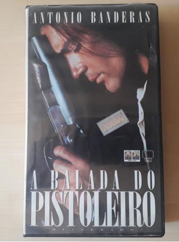 A Balada Do Pistoleiro Vhs - Dvd - Dublado - Disponivel