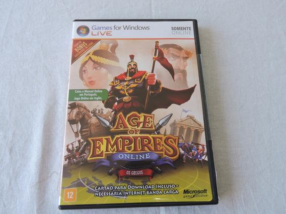Age Of Empires Online - Os Gregos Mídia Física