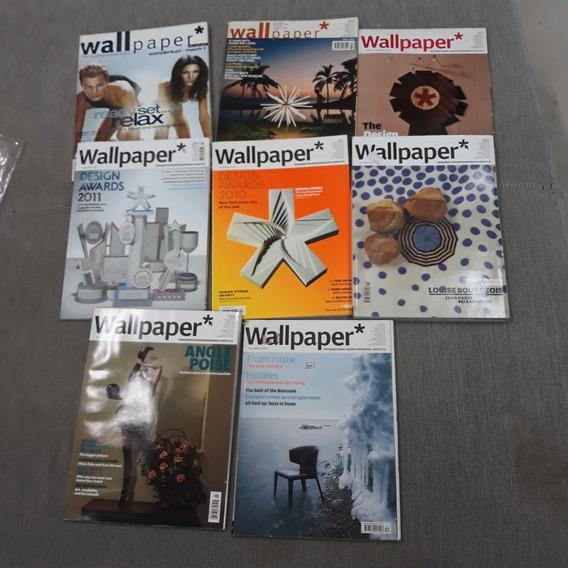 Revista Wallpaper Coleção Com 8 Exemplares