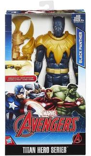 Black Panther / Pantera Negra 30 Cm 100 % Original Hasbro