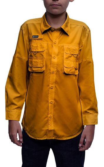 Camisas Ke Niños Manga Larga Ref. Jl01-28