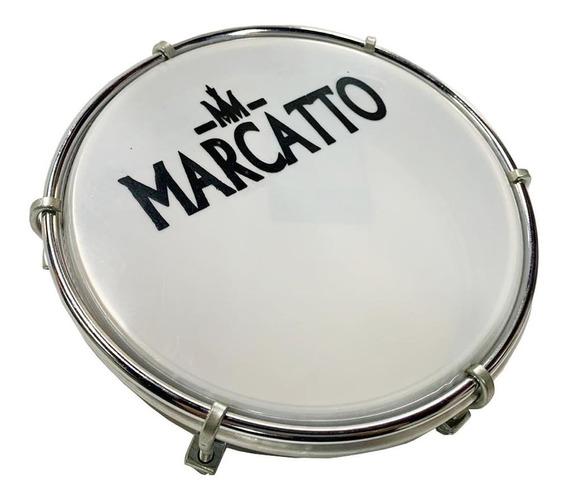 Tamborim Marcatto M280 Inox