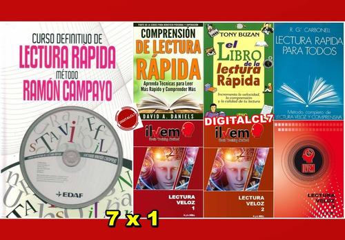 Curso Definitivo De Lectura Rapida - Ramon Campayo + 6 L