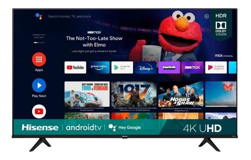 Imagen 1 de 4 de Tv 65 Pulgadas 4k Ultra Hd Smart Tv 65a6g Hisense  Android