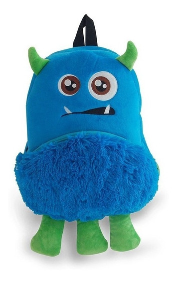 Mochila Peluche Montruo Monster 33976e