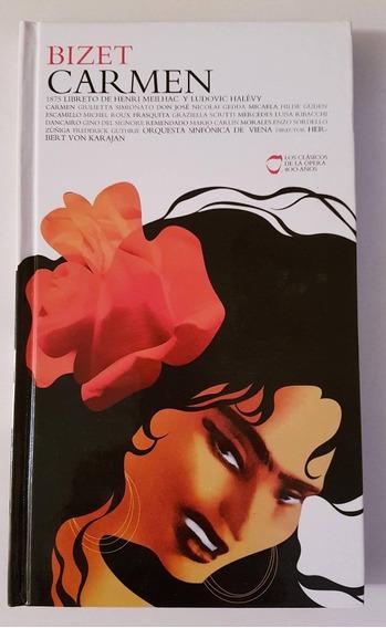 Carmen De Bizet Libro Tapa Dura Con 2 Cd Nuevo