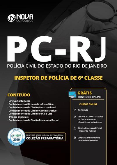 Apostila Concurso Pc Rj 2019 Inspetor Da Polícia Civil Rj