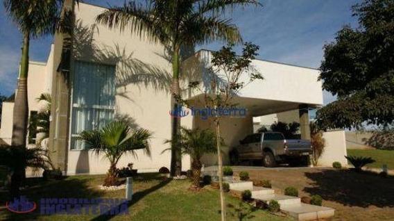 Casa Com 4 Dormitórios À Venda, 260 M² Por R$ 1.400.000,00 - Sun Lake Residence - Londrina/pr - Ca0806