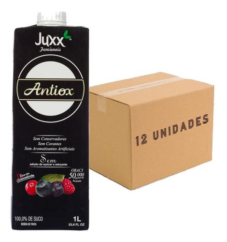 Imagem 1 de 1 de 12x Suco Antiox Juxx 1 Litro