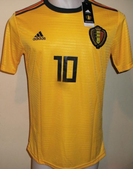 Camiseta Belgica Amarilla 2018 Hazard Nueva