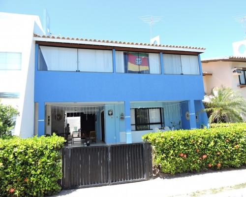 Excelente Casa 3/4, Piscina Privativa, Mobiliado, Somente Temporada. - Ca00042 - 69341354