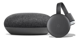Kit Smart Tv Google Chromecast 3 Y Home Mini S/caja Bulk