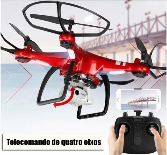 Drone Quadcopter Câmera Hd 1080 Wi-fi