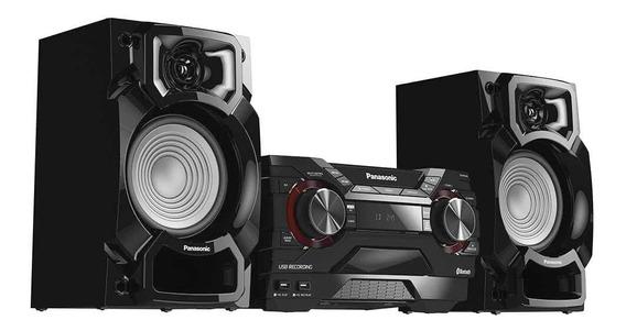 Caixa De Som Mini System Panasonic Sc-akx220lbk - 450w