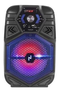 Parlante Inalámbrico Noga Led Bluetooth+usb+fm Karaoke