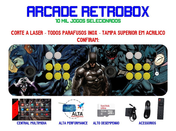 Arcade Portátil Retrobox