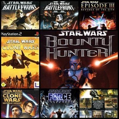 Ps2 Star Wars 9 Dvds Patch Desbloqueado