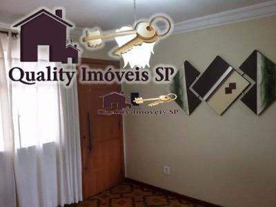 Apartamento Para Venda No Bairro Conjunto Habitacional Padre Manoel Da Nóbrega Em São Paulo - Cod: Qy301 - Qy301